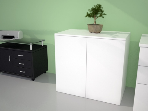 armoire hauteur bureau push open l80 p45 h73. Black Bedroom Furniture Sets. Home Design Ideas